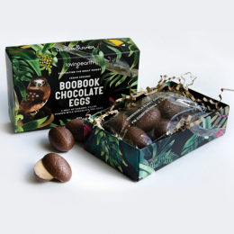 Boobook Chocolate Eggs 95g